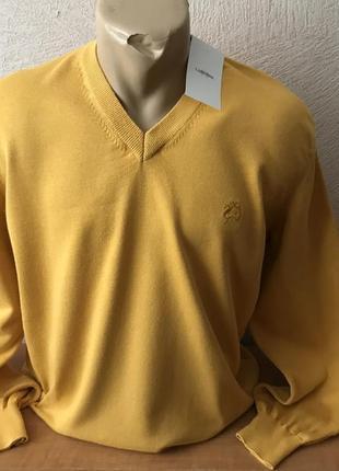 Claudio campione пуловер джемпер свитер с мысиком новый