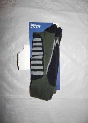 Р-ры. с 26 по 35, лыжные термо носки гольфы высокие crivit, германия