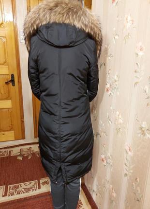 Пуховик. парка. теплая куртка. размер s