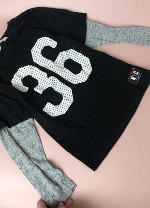 Классная кофта-футболка от h&m🖤