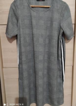 Стильное платье с лампасами george, р.12 (40)