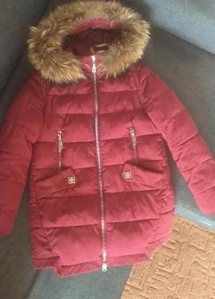 Зимние пальто куртка