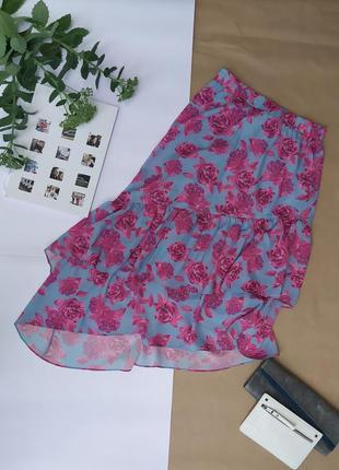 Ассиметричная красивая юбка на все сезоны и с туфлями/босоножками и с сапогами
