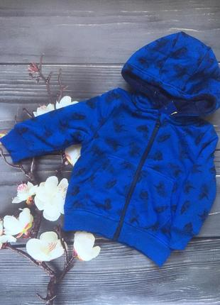 Кофта-куртка на меху lupilu3 фото
