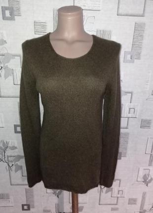 Свитер пуловер из бейби альпаки премиум бренда daniele fiesoli