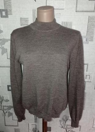 Шерстяной свитер под merino collection