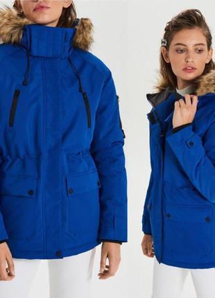 Новая ветрозащитная и влагоустойчивая  куртка, парка cropp