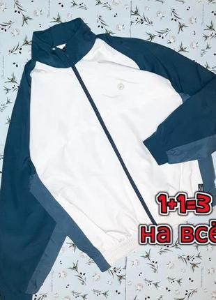 🌿1+1=3 фирменная спортивная куртка олимпийка бомбер adidas оригинал, размер 50 - 52