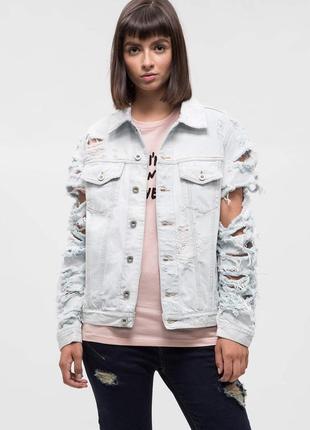 Мега крутая джинсовая куртка diesel (de-visty)
