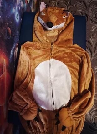 Маскарадный костюм, костюм на новый год, на утренник лиса