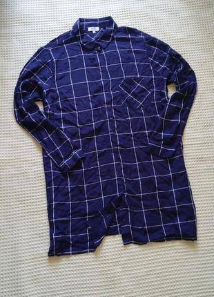 Легкая рубашка papaya 18р вискоза
