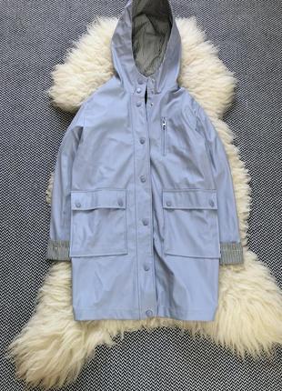 Дождевик плащ удлиненный куртка ветровка