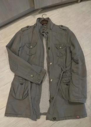 Парка, куртка на искусственном меху