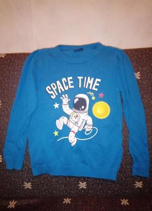 Свитерок космос для маленького космонавта