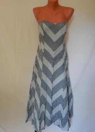 Шелковый сарафан-платье два в одном от coast (размер 14)