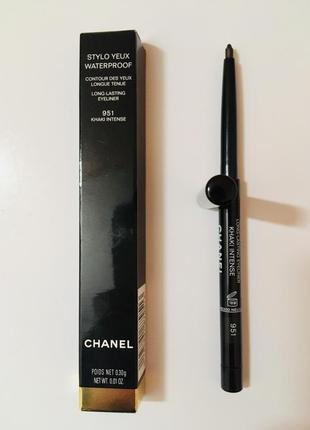 Chanel водостойкий контур для глаз stylo yeux waterproof