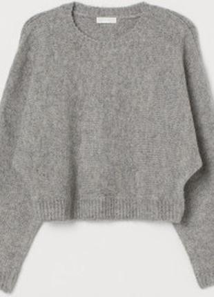 Красивый шерстяной свитер оверсайз h&m