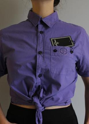 Рубашка актуального кольору stone island