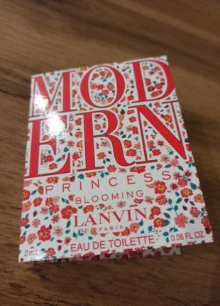 Lanvin modern princess парфюмированная вода