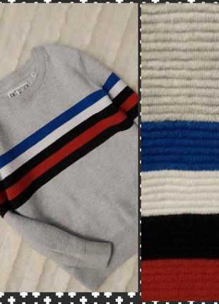 Нарядный фактурный свитшот свитер кофта