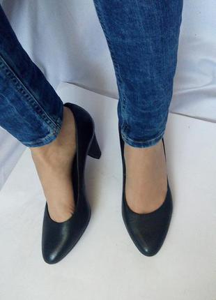 Кожаные туфли, лодочки 5th avenue