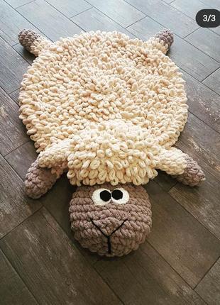 Неверояно мягкий, плюшевый коврик ручной работы