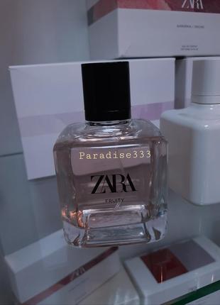 Zara fruity original parfum / духи / парфюм !!