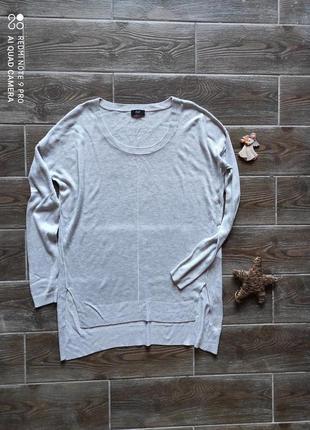 Легкий базовый свитер