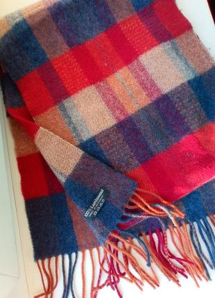 Шерстяной мужской шарф зимний 🌨️