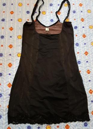 Подплатье с боди утягивающее