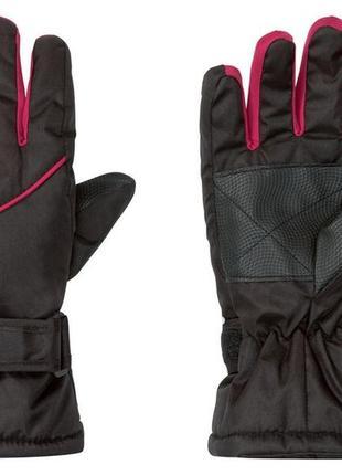 Лыжные перчатки crivit® для девочек, xs