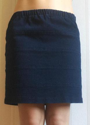 Стильная джинсовая юбка marks & spencer s-m