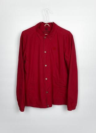Куртка-рубашка jacket pull&bear