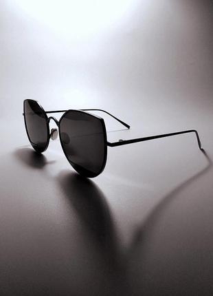 Очки кошачий глаз. очки линзы с защитой uv 400. солнцезащитные очки