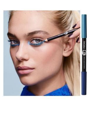 Двусторонний карандаш для глаз oncolour
