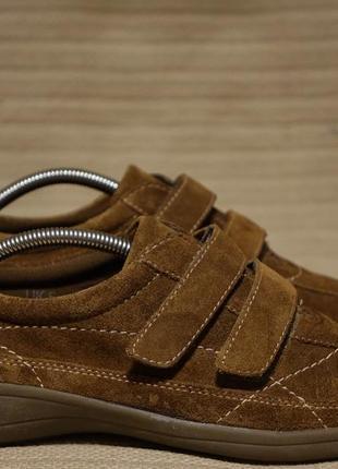 Мягчайшие комфортные кожаные кроссовки footglove англия 38 р.