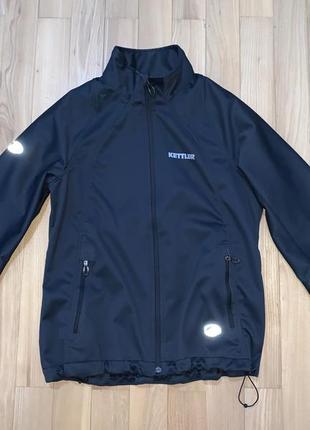 Куртка вітровка софтшел outlyne для активного відпочинку розмір м-l 42