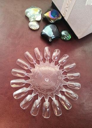 Ромашка дисплей палитра для демонстрации лаков и гель лаков на 18 типс probeauty