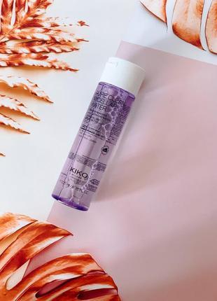 Мицеллярная вода для снятия макияжа для нормальной и сухой кожи kiko кико kiko milano