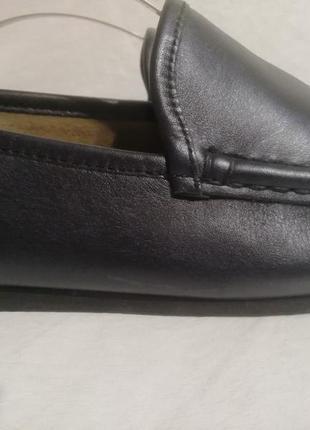 Konstantin starke london кожаные туфли мокасины тапочки р. 40 ст 26 см