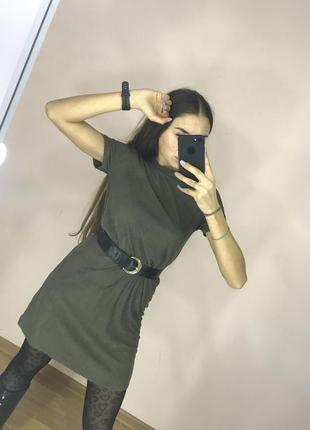 Замшевое платье от zara