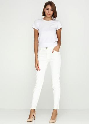 Новые! джинсы молочные h&m зауженные