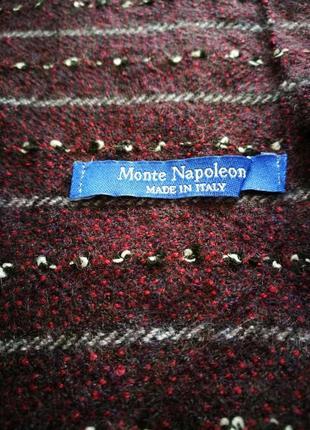 Чоловічий шарф monte napoleone made in italy
