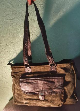 Замшевая сумка2 фото