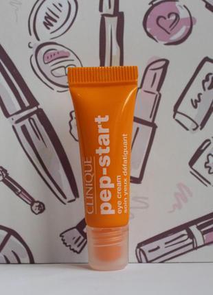 Увлажняющий крем-гель для кожи вокруг глаз clinique pep-start™ eye cream