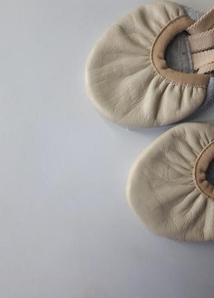 Кожаные балетки для гимнастики 17р.2 фото