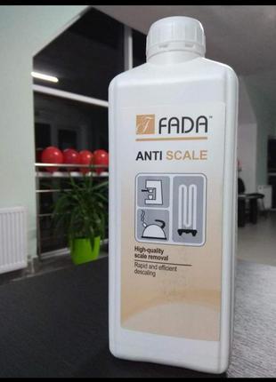 Засіб для видалення накипу fada антинакип