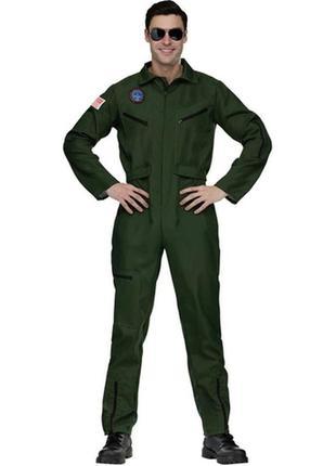 Карнавальный костюм летчик истребитель.