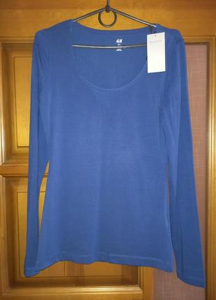 """Женская футболка с длинным рукавом """"h&m""""."""