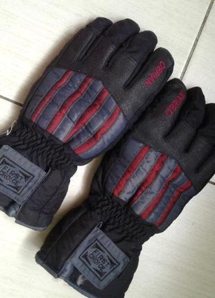 Зимние термо перчатки большого размера